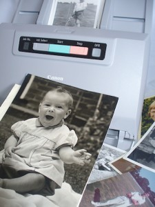 Scan your photos to digital