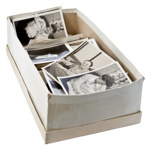 Shoe Box of Photos to be Scanned